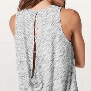 Lulu🍋Low Key Tank *Silver